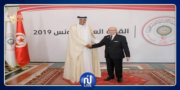 سبب مغادرة الأمير القطري تميم بن حمد للقمة العربية بتونس