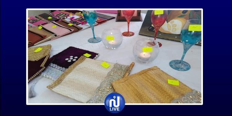 ڤبلي: افتتاح معرض نساء واحة دوز المبدعات