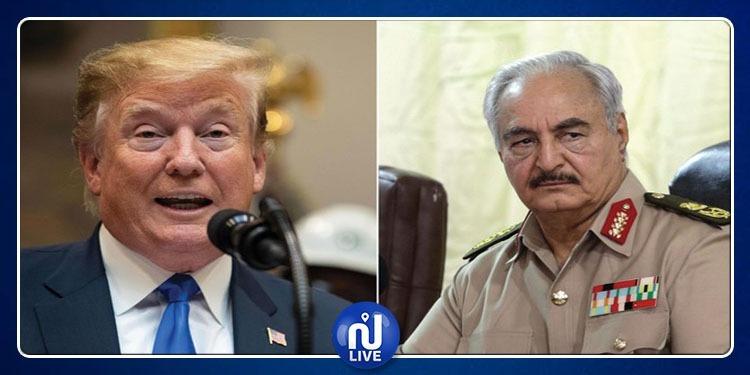 Trump s'est entretenu avec le maréchal Haftar...