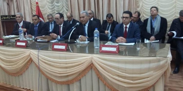 زغوان: عبد الله الرابحي يشرف على  المجلس الجهوي للمياه