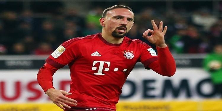 Football: Ribéry rappelé à l'ordre pour un geste anodin