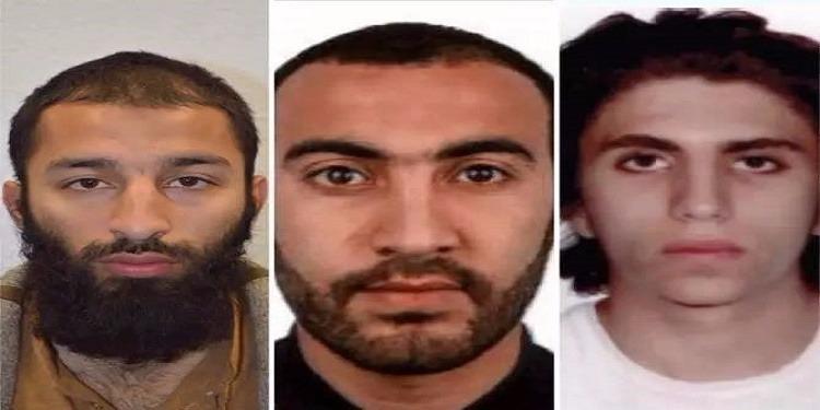 الكشف عن هوية منفذي هجمات لندن الأخيرة