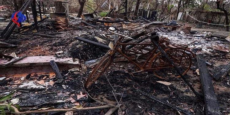 ميانمار: تدمير مزيد من القرى والإعلان عن وقف إطلاق النار مدة شهر