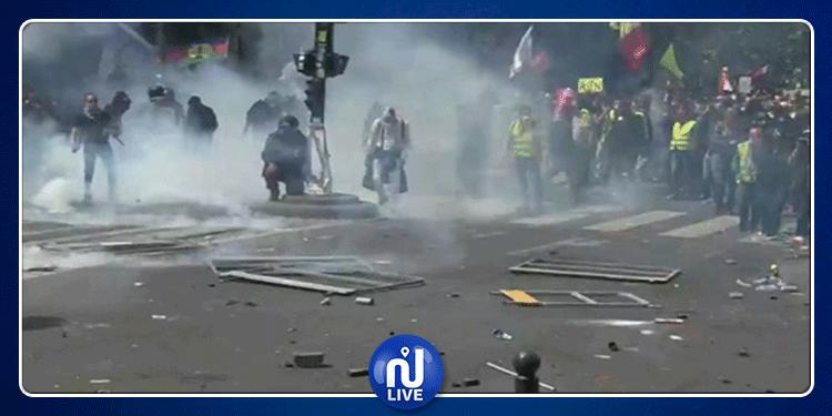 فرنسا: صدامات عنيفة بين الشرطة ومتظاهرين