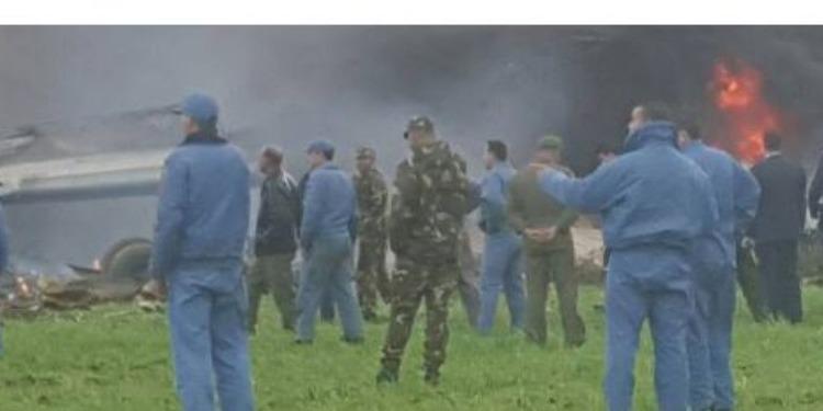 الجزائر: سقوط  طائرة عسكرية ومقتل عدد من ركابها في البليدة (فيديو)
