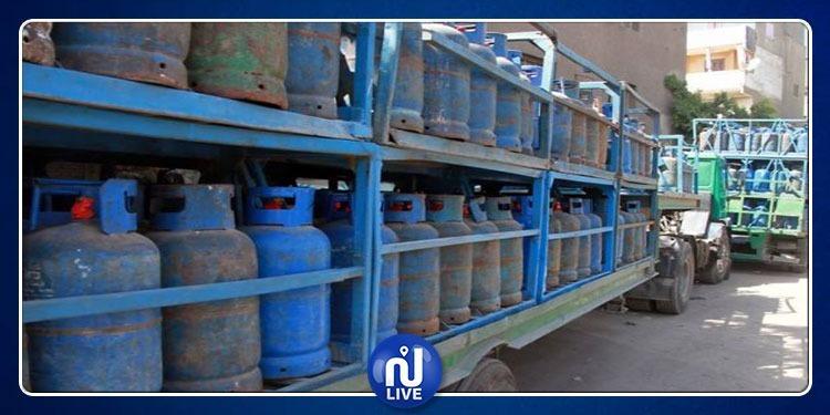 تأجيل تعليق نشاط موزعي قوارير الغاز المنزلي