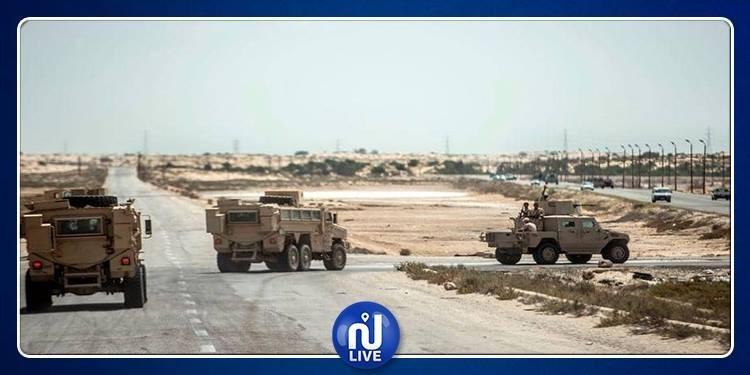 استهداف مخابئ إرهابية في مداجن مهجورة بمصر