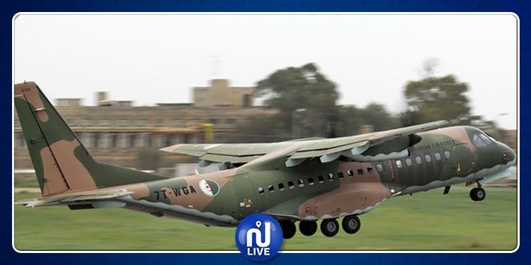 سقوط طائرة عسكرية جزائرية