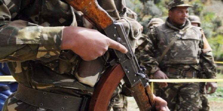 الجزائر : القضاء على إرهابي خطير وإسترجاع سلاح ناري