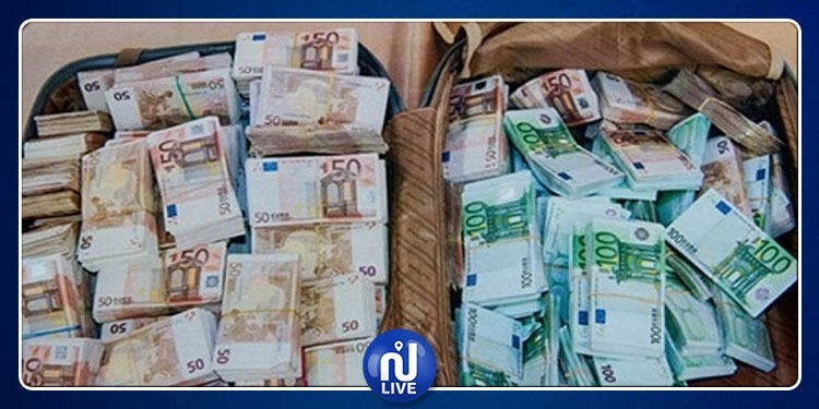 مطار قرطاج:ارتفاع قيمة العملة الأجنبية المحجوزة إلى 4.5 مليون دينار