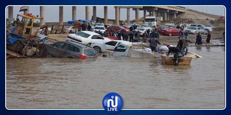 العراق: وفاة 10 أشخاص وإصابة 22 آخرين جرّاء الفيضانات