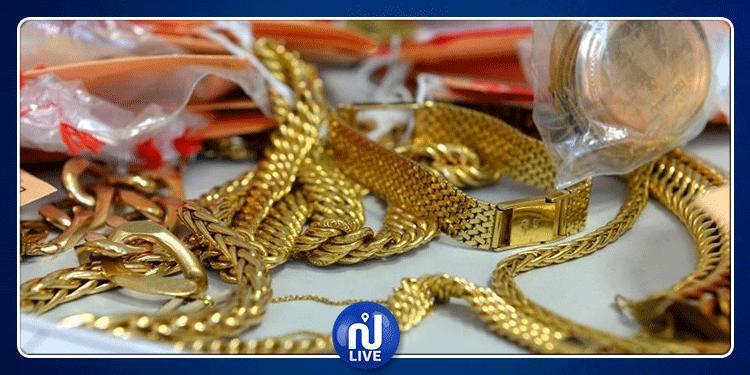 راس جدير: حجز 20 كغ من الذهب على متن سيارة ليبية