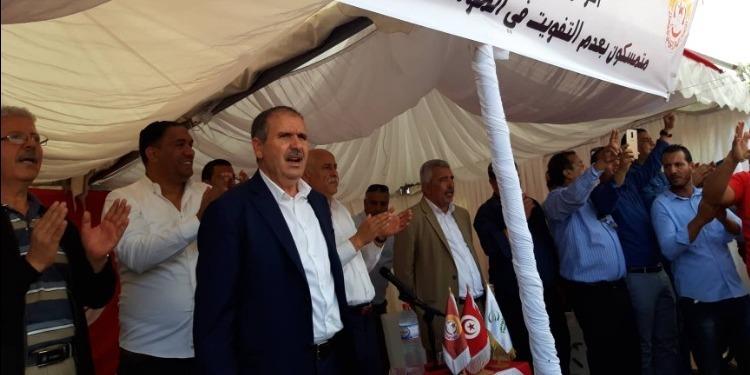 Taboubi: 70 mille lignes rouges, devant la privatisation du public