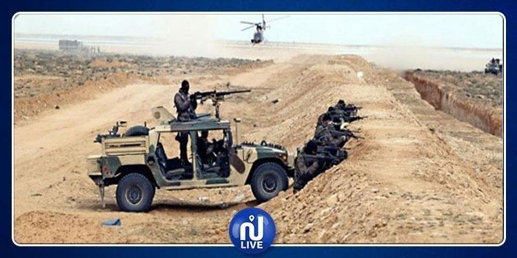 الشوشة: إيقاف 4 أشخاص بصدد الدخول إلى التراب التونسي
