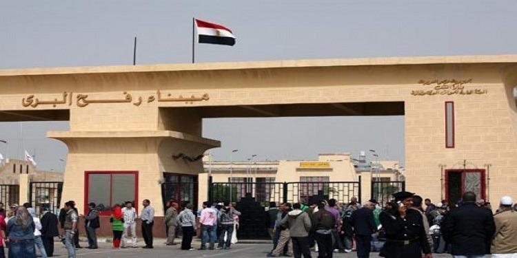 بداية من اليوم..فتح معبر رفح البري ثلاثة أيام في الإتجاهين