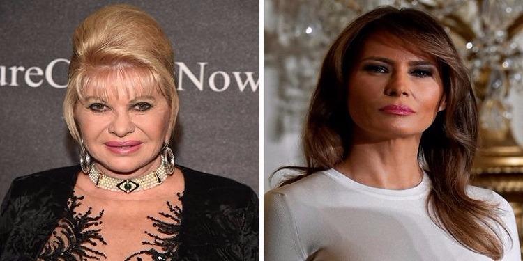 إيفانا ترامب تنصب نفسها ''سيدة أولى'' وتثير غضب ميلانيا