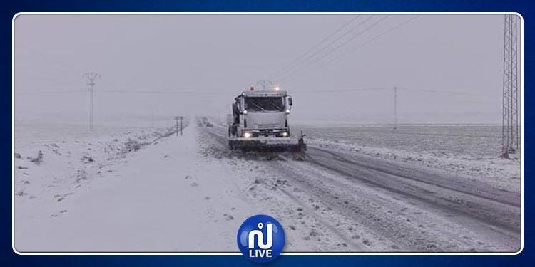 جرّاء الثلوج والأودية : تواصل انقطاع عدد من الطرقات في هذه الولايات