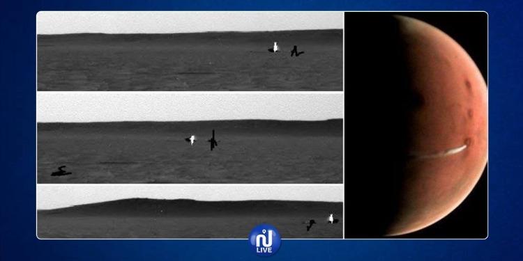 ناسا ترصد جسما غريبا يتحرّك وينتقل على سطح المريخ (فيديو)
