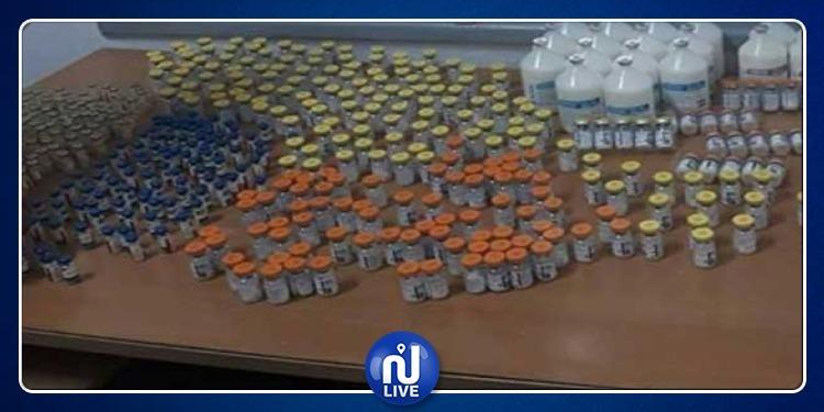 بن عروس: حجز 3000 قارورة سوائل سجائر إلكترونية
