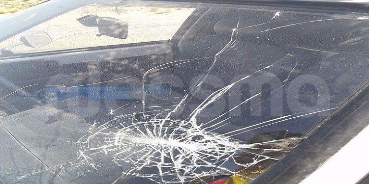 بن قردان: غلق طريق معبر راس جدير إثر تهشيم سيارات تجار تونسيين من قبل العاملين بالجانب الليبي (صور)
