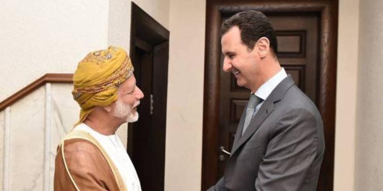 أسرار زيارة بن علوي للرئيس الأسد