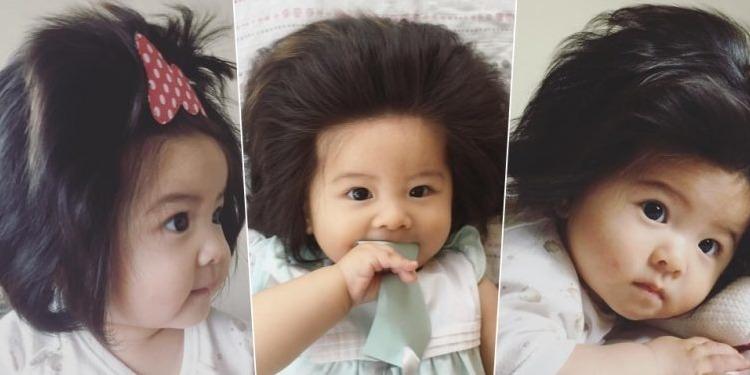 Chanco, un bébé qui fait le buzz avec ses cheveux…