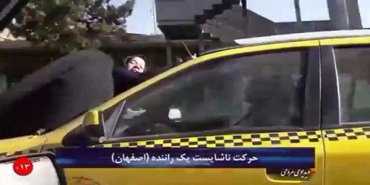 ايراني يتشاجر مع زوجته وينتقم منها بطريقتة الخاصة ( فيديو)