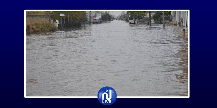 Pluies importantes à Sfax: la Protection civile intervient (vidéo)