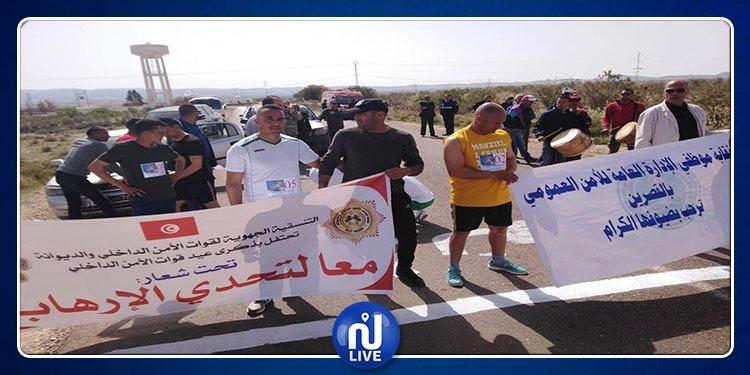 القصرين تحتفي بعيد قوات الأمن الداخلي تحت شعار 'معا لتحدى الارهاب'