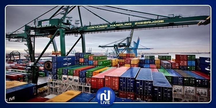 تطور حجم المبادلات التجارية التونسية مع الخارج