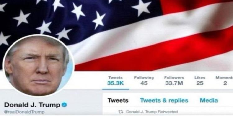 تويتر يرفض مطالب حذف حساب دونالد ترامب