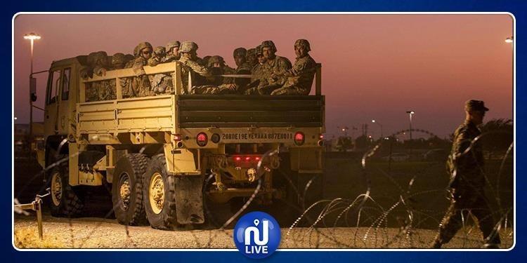 USA : 3.750 soldats à la frontière mexicaine
