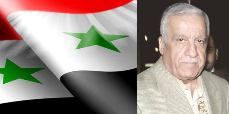وفاة محمد ناصيف خيربيك أحد أركان النظام السوري