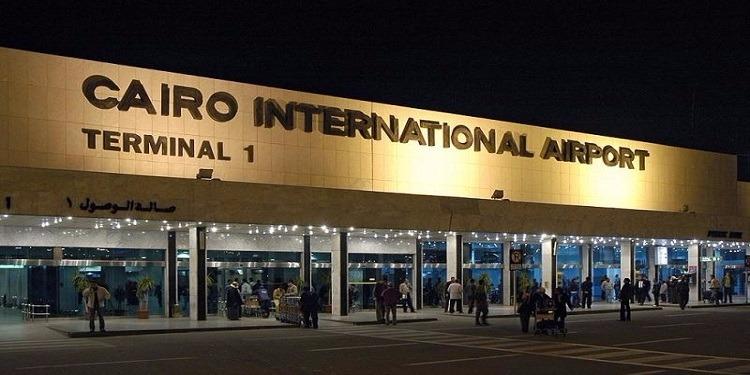 نشوب حريق في  مطار القاهرة الدولي