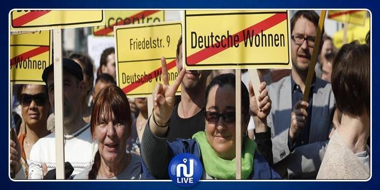 Les Allemands se mobilisent contre ''la folie des loyers''