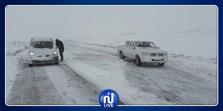 تالة: إيواء 41 شخصا حاصرتهم الثلوج