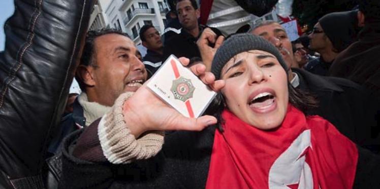 نابل: نقابات قوات الأمن الداخلي تنفذ مسيرة سلمية