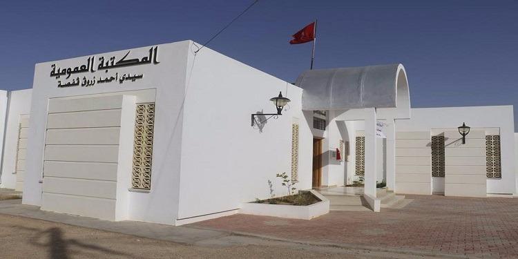 قفصة : تدشين المكتبة العمومية بسيدي أحمد زروق (صور)