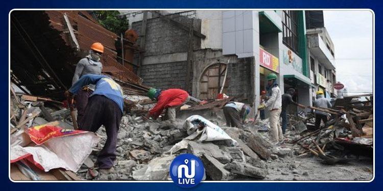 Un séisme de magnitude 6,3 frappe les Philippines…