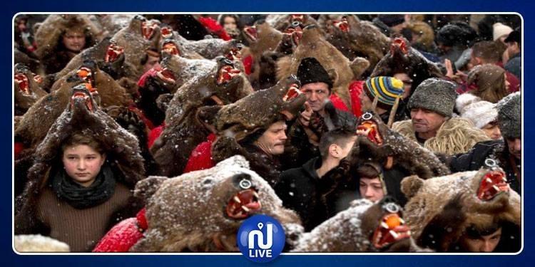 Les Roumains accueillent la nouvelle année, à leur façon (Vidéo)