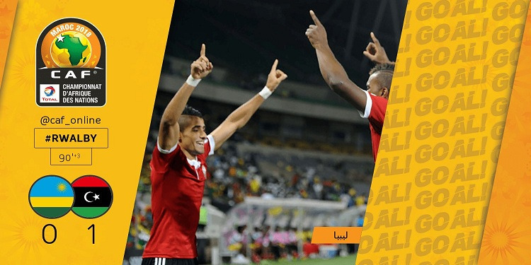 شان المغرب 2018: أبوشناف يقد المنتخب الليبي للانتصار على رواندا