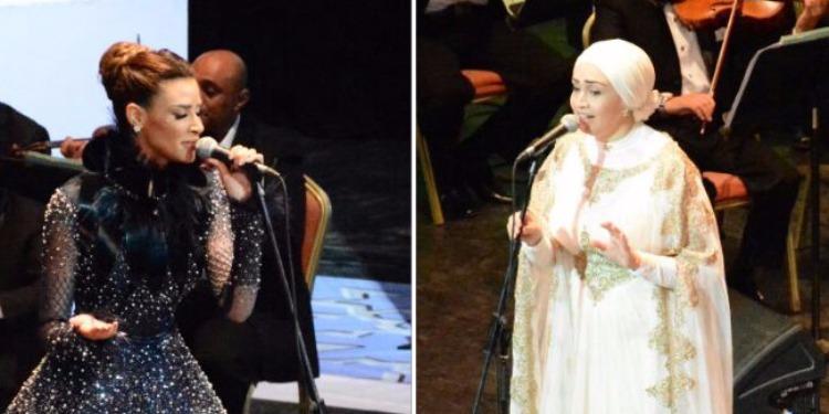 مطربة الأوبرا آيات فاروق تغني 'لاموني إلى غاروا مني' رفقة أميمة طالب