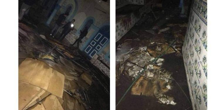 جربة: القبض على المورطين في حرق بيت صلاة يهودي بحومة السوق