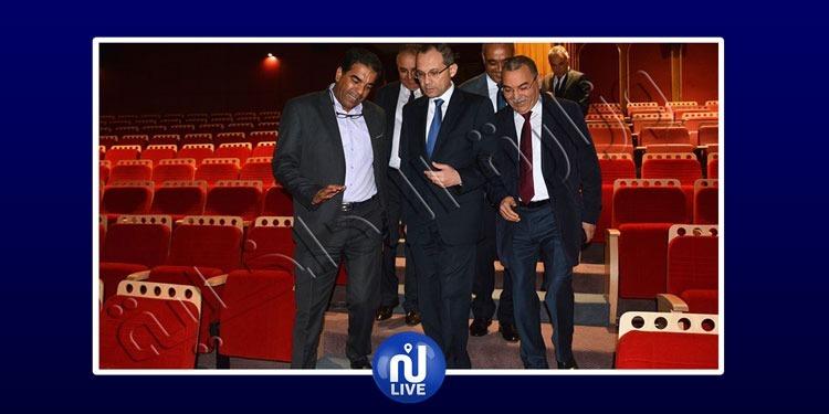 أيام قرطاج السينمائية: وزير الداخلية يتحوّل إلى مدينة الثقافة (صور)
