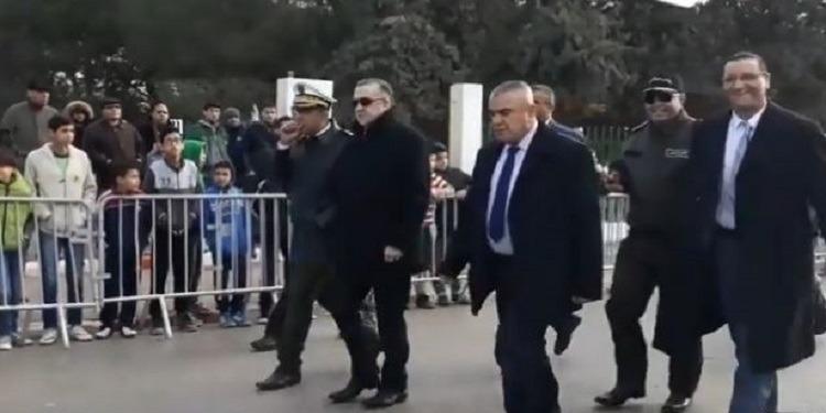 وزير الداخلية يصل إلى حي التضامن وسط حضور أمني مكثف