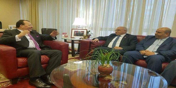فحوى لقاء عبد الكريم الهاروني بسفير تونس بواشنطن