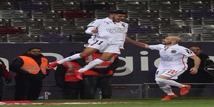 بعد دخوله بعشر دقائق : هدف بسام الصرارفي يمنح الفوز لفريق نيس ضد تولوز في البطولة الفرنسية (فيديو)