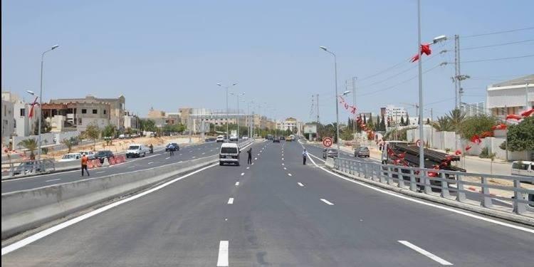 Le nouveau pont de la GP12 entre Sousse et Kairouan ouvert à la circulation