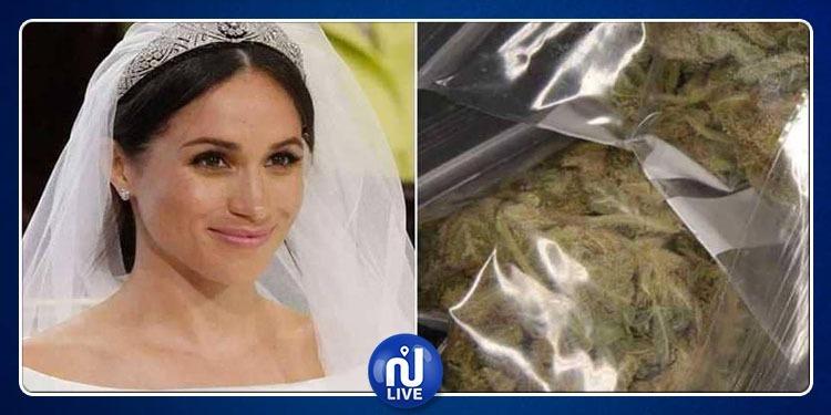 ميغان ماركل قامت بلف سجائر ماريخوانا ليلة زواجها بالأمير هاري !
