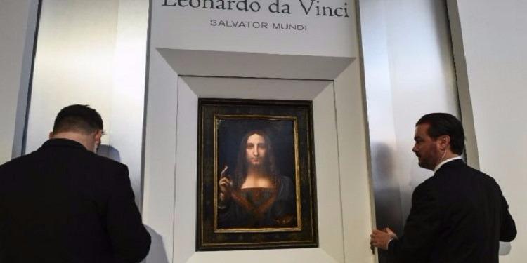 لوحة دافنشي المحيرة بـ100 مليون دولار! (صور)